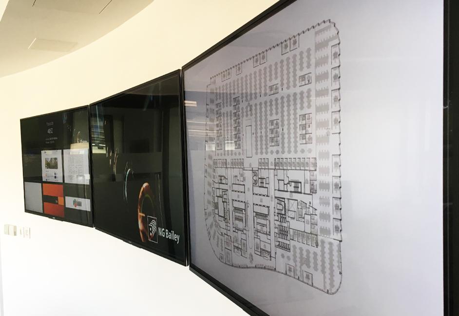 Flexible boardroom av installation