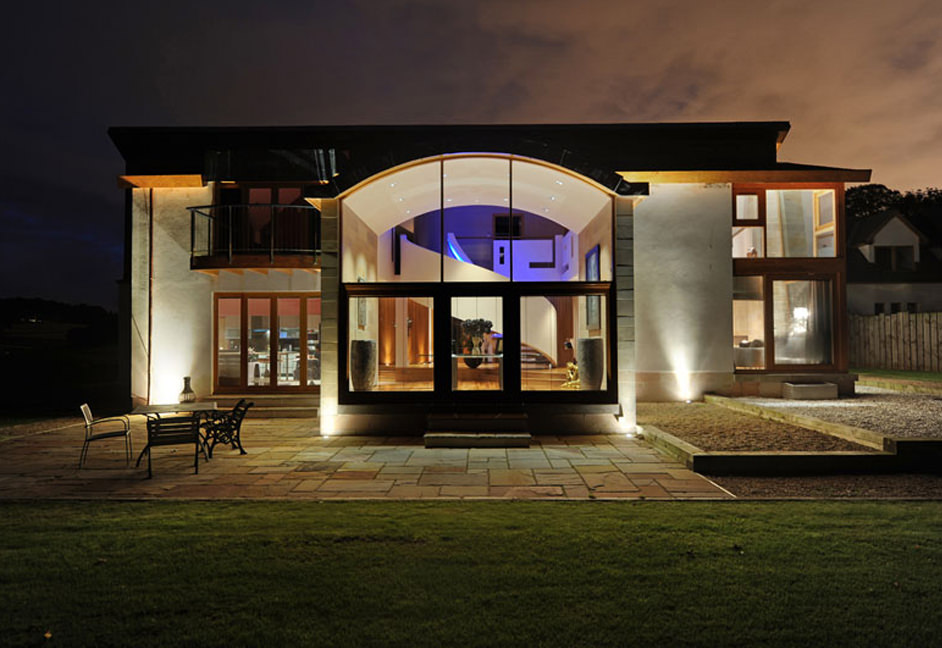 Large luxury residential property in Scotland