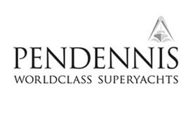 Tourist and Leisure - Pendennis shipyard logo greyscale