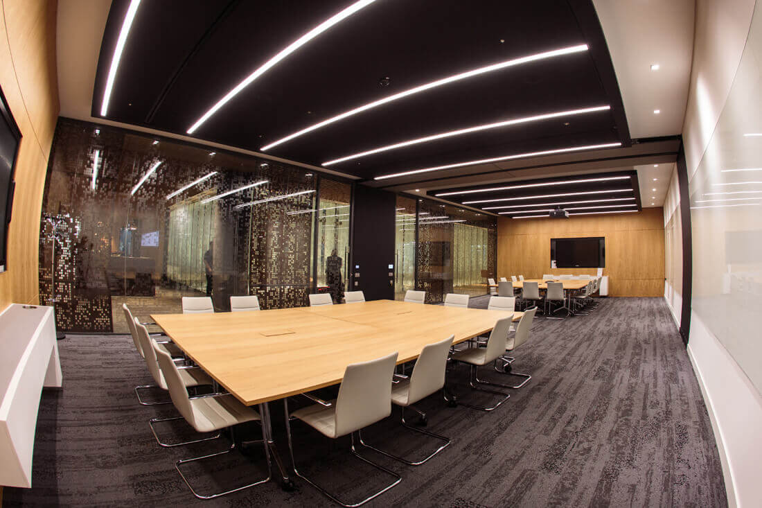 QBE Insurance London Divisible Meeting Room