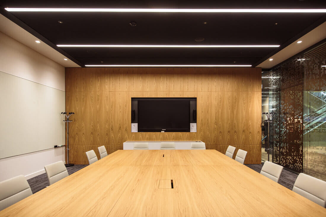 QBE Insurance London Meeting Room with VC System