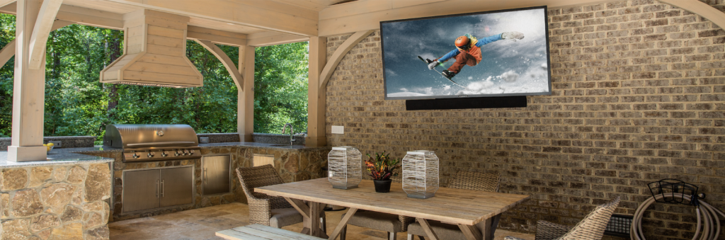 Outdoor TV from Control4