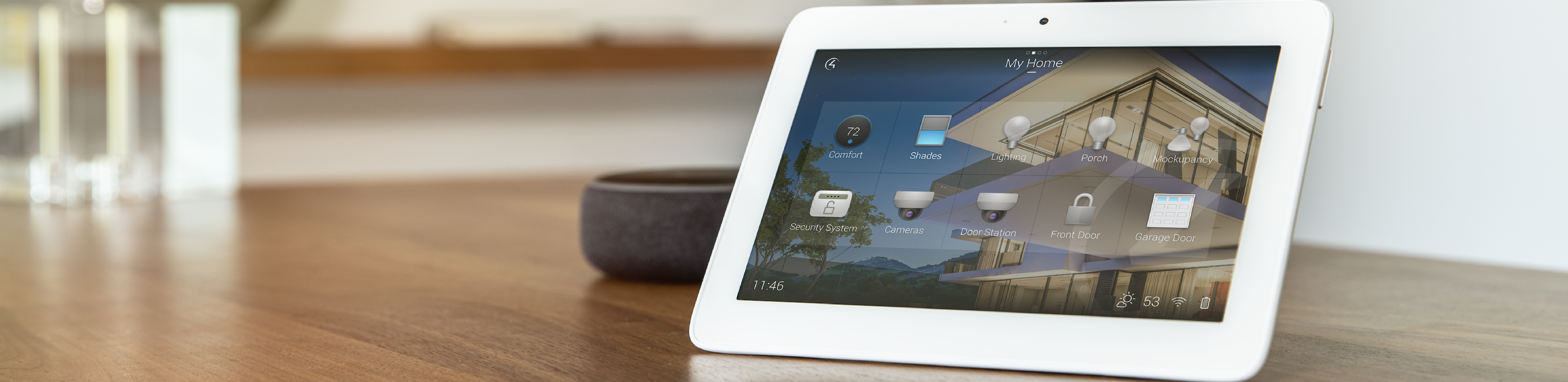 Home Automation image with control4 iPad