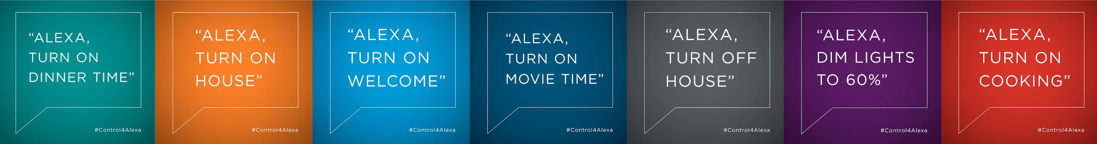 Control4 x Alexa