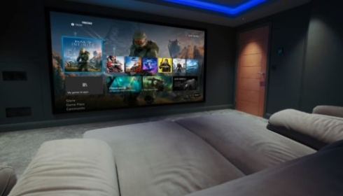 Gaming room Xbox series x
