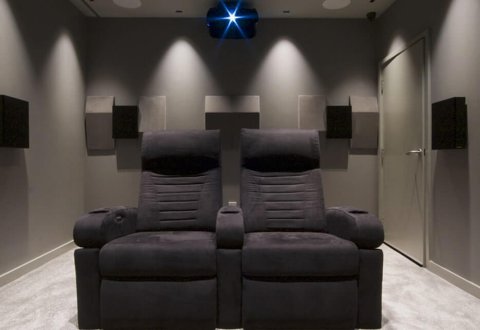 home cinema x2 chairs