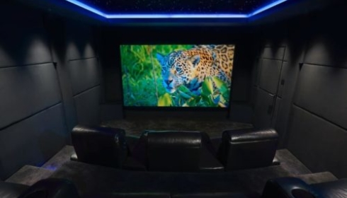 Home cinema - The Roxy cinema