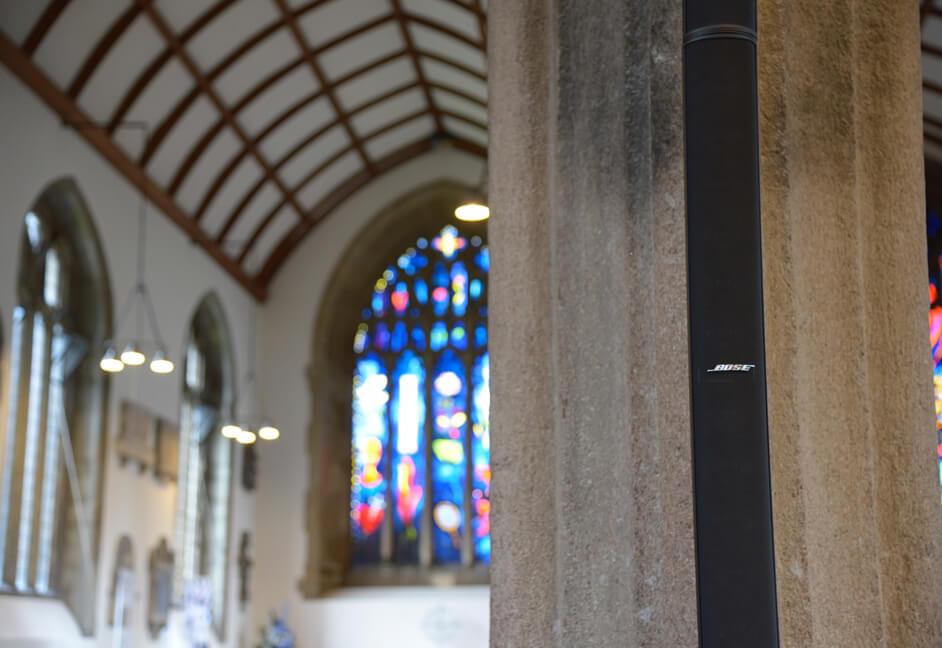 Devon, South West house of worship bose speaker