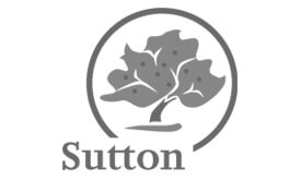 Corporate, Architects and Designers - London Borough of Sutton greyscale logo