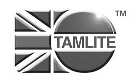 Retail, corporate - Tamlite greyscale logo