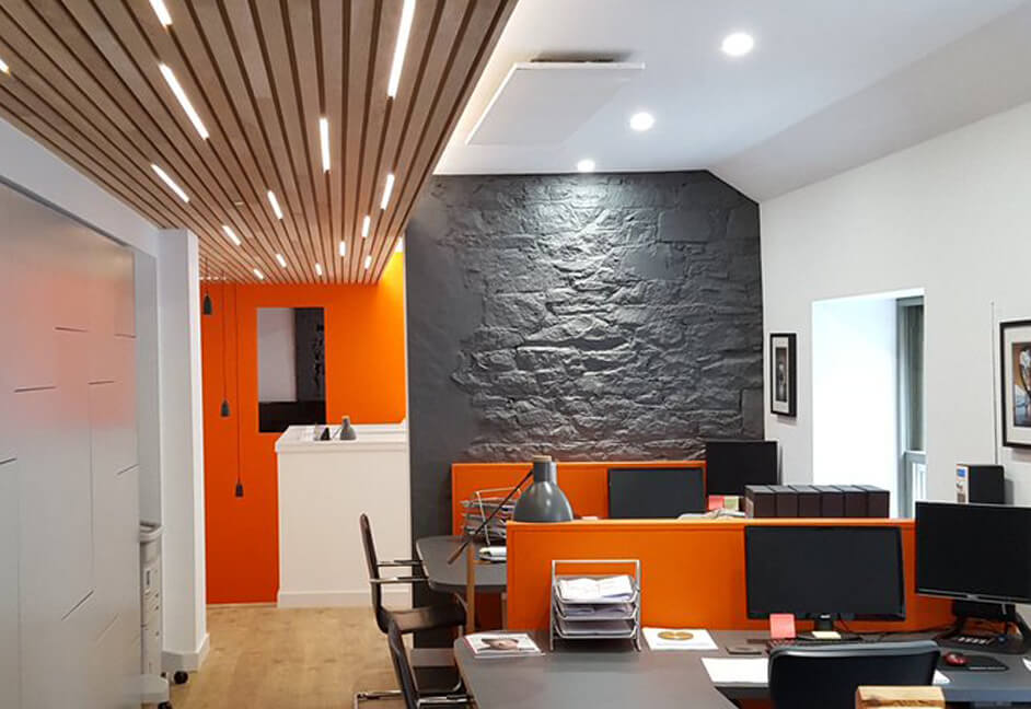 Office lighting design in Scotland