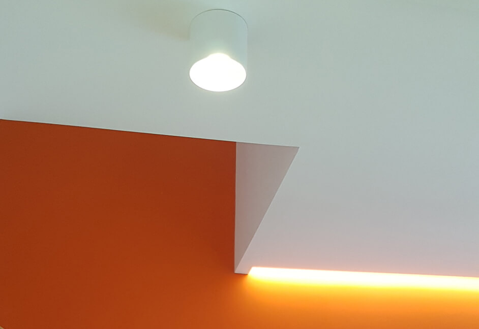 Interior designer office lighting