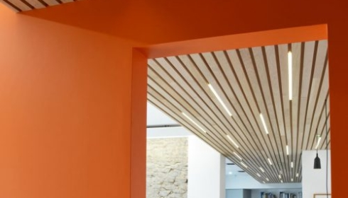 Ceiling office lighting design