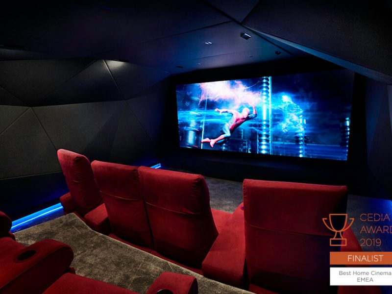 Inside luxury home cinema The Cavern