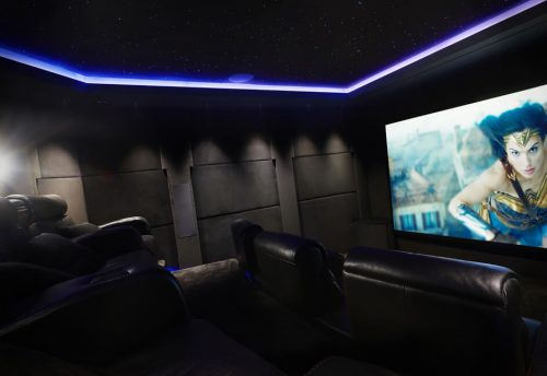 home cinema installation in devon south west UK