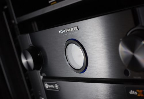 Marantz amplifier luxury cinema install