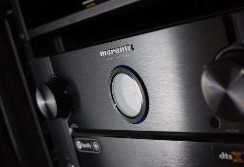 Marantz amplifier luxury cinema install