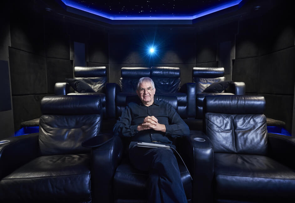 private cinema install customer Teignmouth