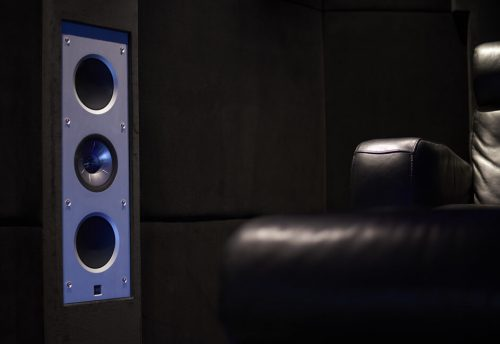 Keff speakers in luxury cinema Installation South West UK