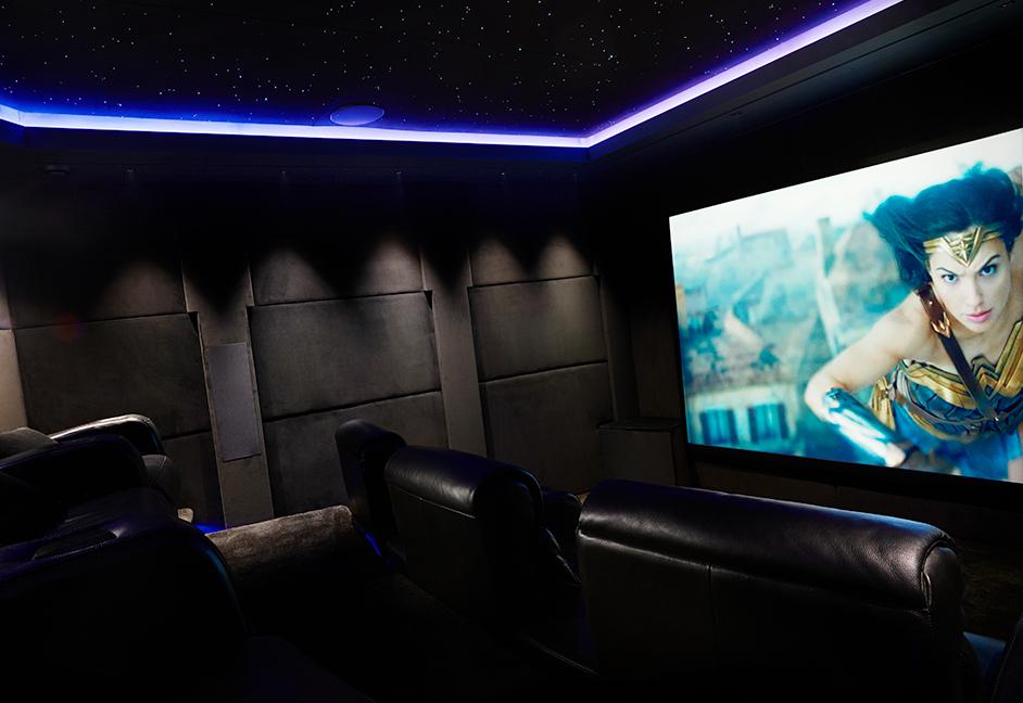 The Roxy cinema Wonder Woman on screen