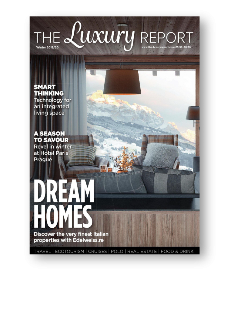 The Luxury Report cover