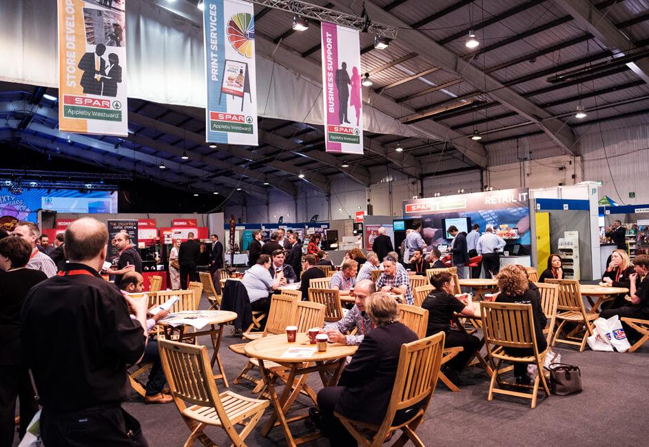 Westpoint Arena Exeter - corporate exhibition