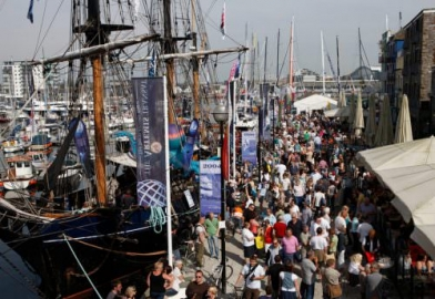 Plymouth barbican Transat race