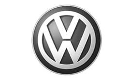 Corporate and Retail - Volkswagen logo greyscale