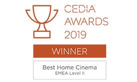 CEDIA Home Cinema winner 2019