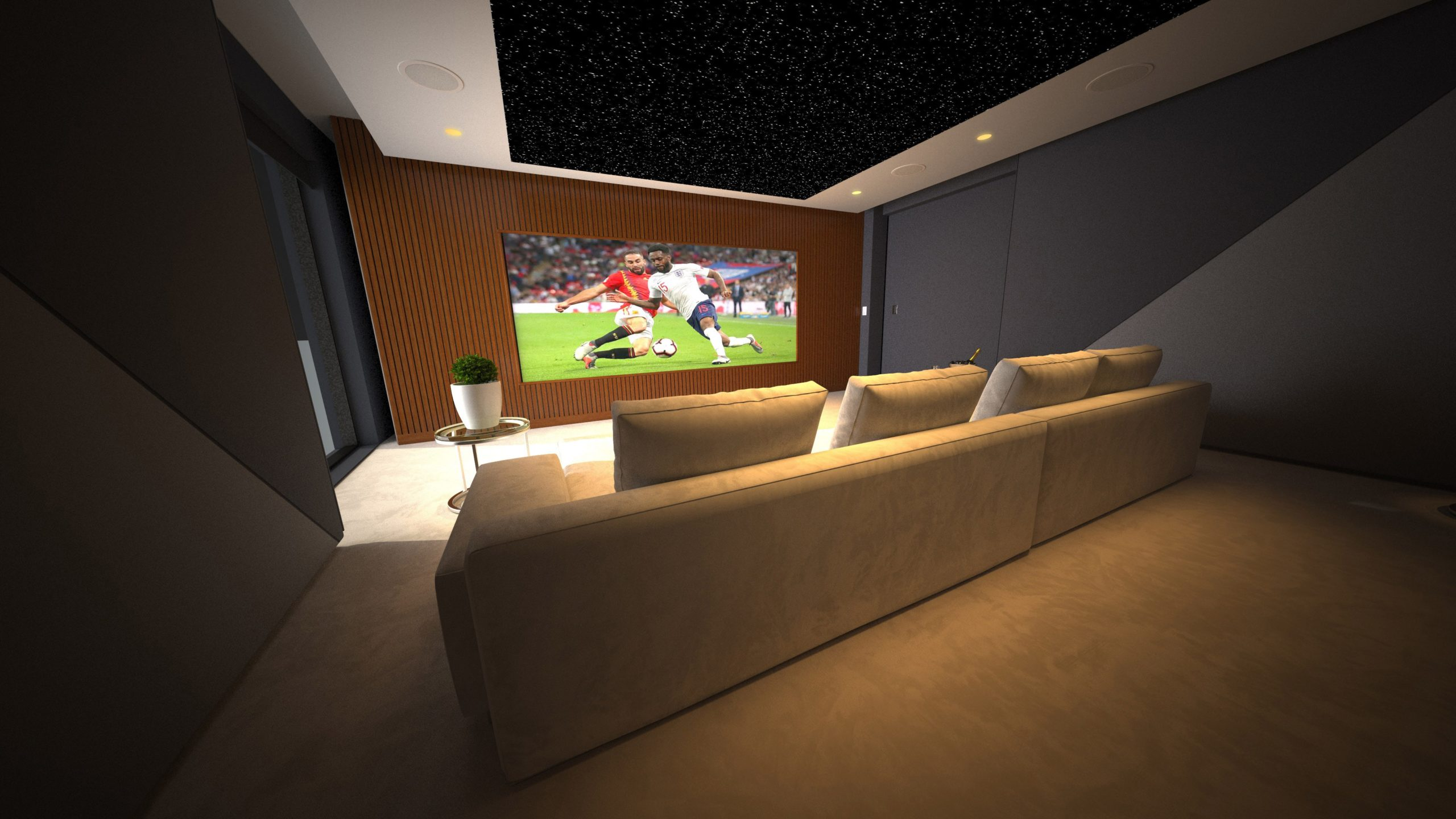 Paco cinema room