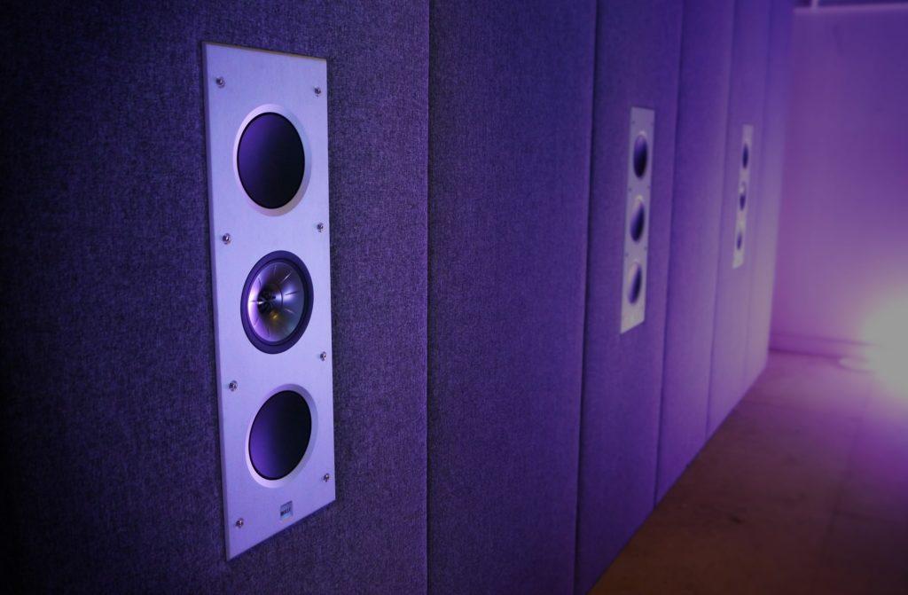 AWE speakers in home cinema