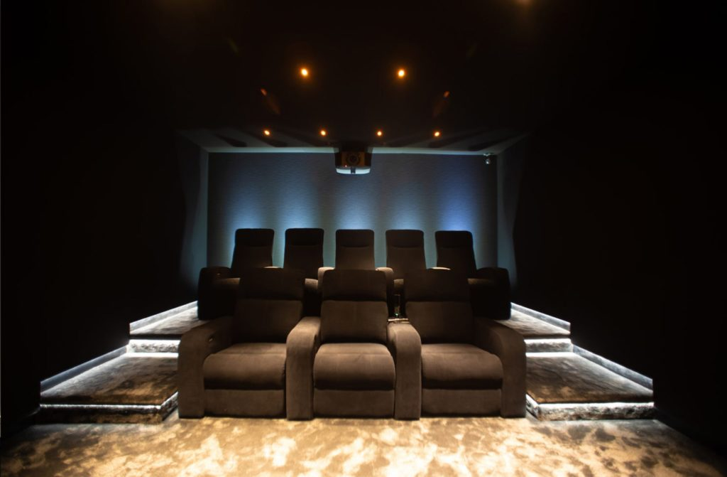 Invision home cinema seating