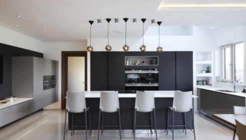 Woodend Mannor kitchen lighting