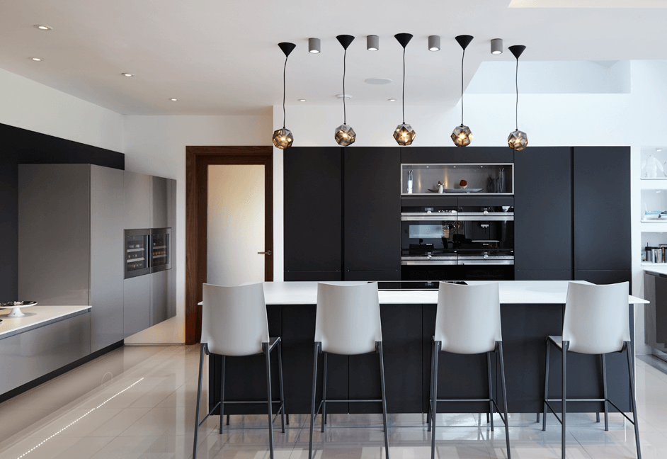 contemporary automated kitchen