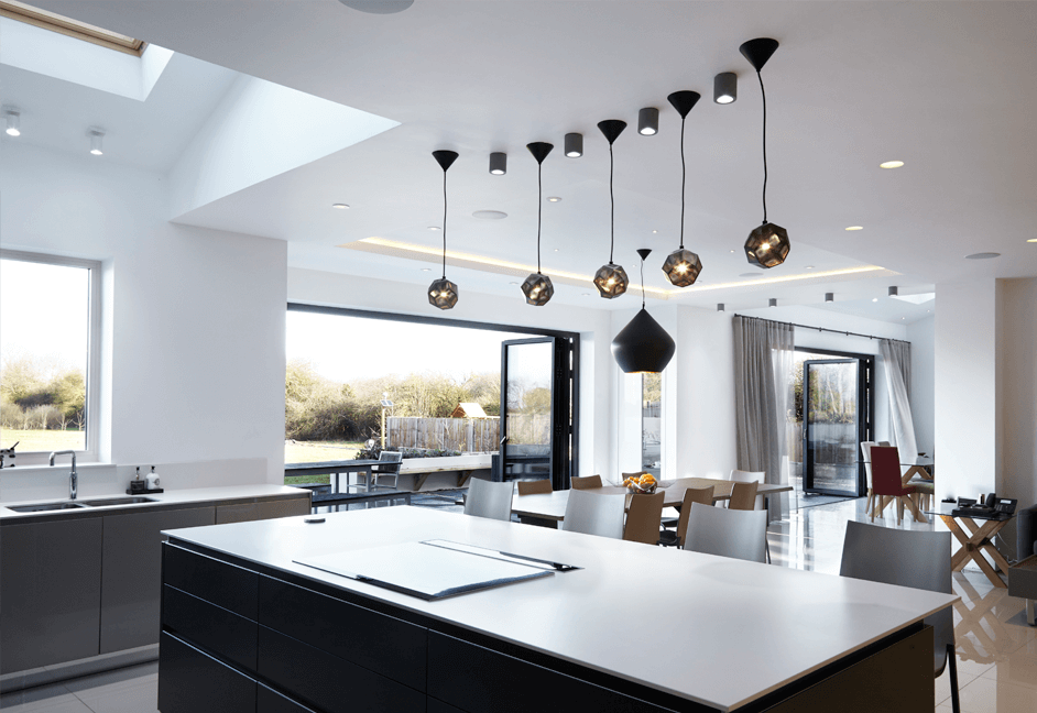 lighting and control systems for smart kitchen